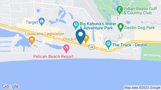 Holiday Inn Destin on the Beach Map