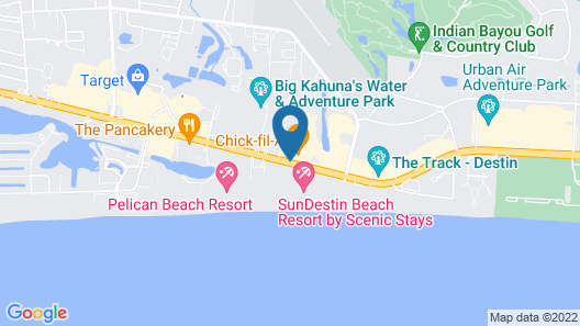 Days Inn by Wyndham Destin Map