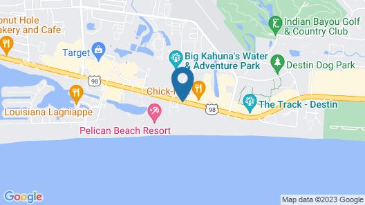 Hampton Inn & Suites Destin Map