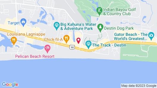 Club Destin Map
