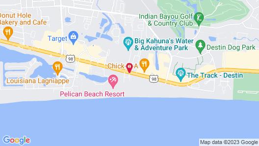 Jade East Towers 620 Destin Map