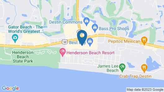 Holiday Inn Express Destin E - Commons Mall area, an IHG Hotel Map