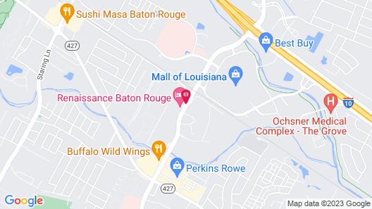 Renaissance Baton Rouge Hotel Map