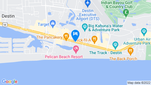 Pelican Beach Resort & Conference Center Map