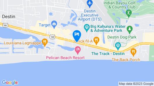 The Terrace at Pelican Beach Map