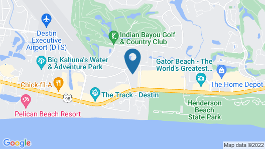 Palms of Destin Map