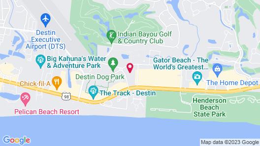 The Palms of Destin Map