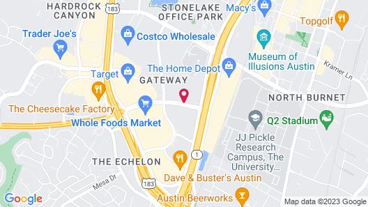 TownePlace Suites by Marriott Austin Arboretum/The Domain Area Map