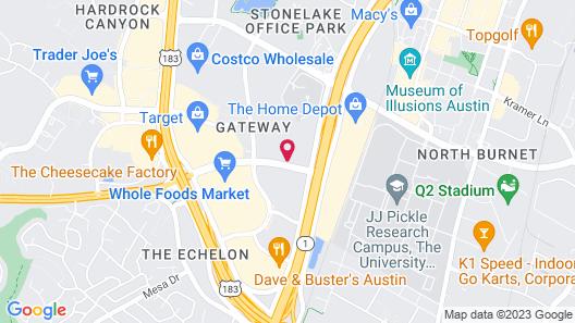 Extended Stay America Suites Austin Northwest/Arboretum Map