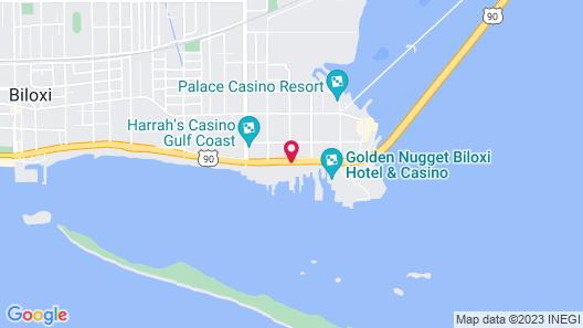Harrah's Gulf Coast Map