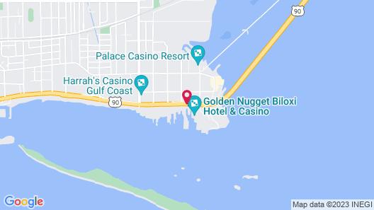 Margaritaville Resort Biloxi Map