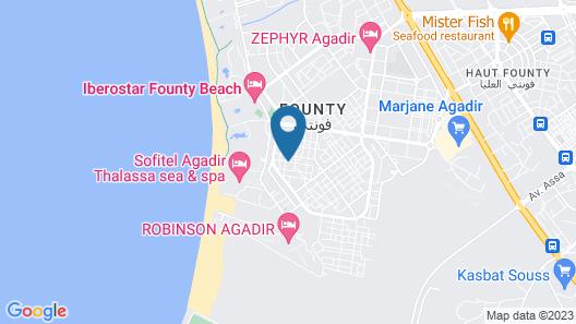 Sourebou Chez Appart Hotel Founty Beach Map