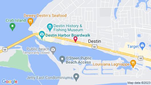Inn on Destin Harbor, Ascend Hotel Collection Map