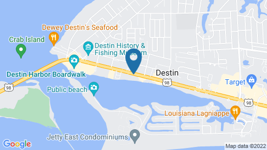 Inn on Destin Harbor, Ascend Hotel Collection Map