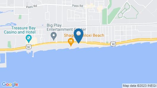 South Beach Biloxi Hotel & Suites Map