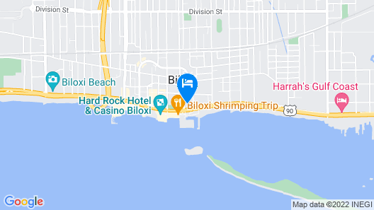 The Hotel Legends Map