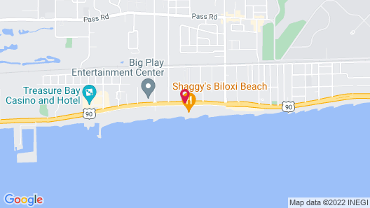 Days Inn by Wyndham Biloxi Beach Map