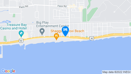 Star Inn Biloxi Map