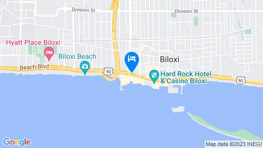 Best Western Oak Manor Map