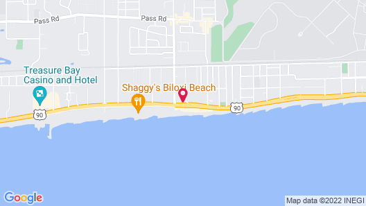 Holiday Inn Express Biloxi - Beach Blvd, an IHG Hotel Map