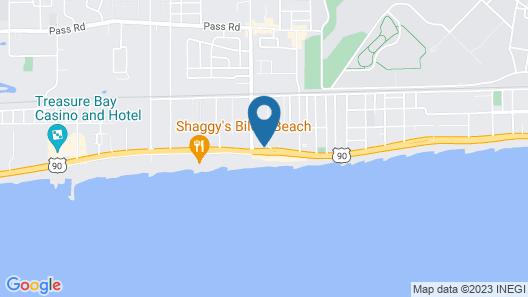Holiday Inn Express Biloxi - Beach Blvd, an IHG Hotel Map