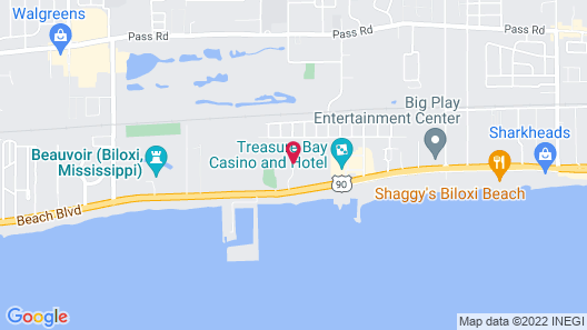Ocean View Vacation Villas by Capital Vacations Map