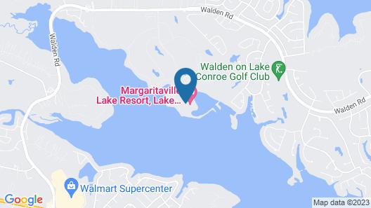 Margaritaville Lake Resort, Lake Conroe/Houston Map
