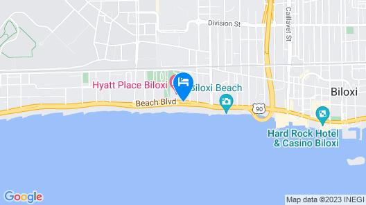 Hampton Inn Biloxi Map