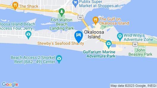 Azure Condominiums Map