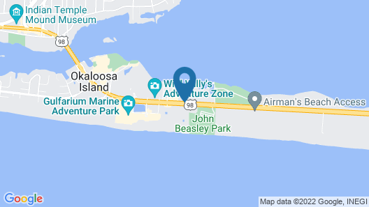 Destin West Vacations Map