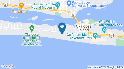 The Breakers of Fort Walton Beach Map