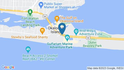 Four Points by Sheraton Destin-Fort Walton Beach Map