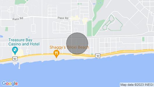 Ultimate Beach & Casino Row Condo Getaway Map