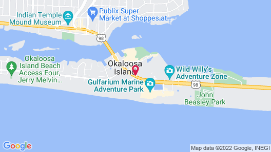 Emerald Coast Inn And Suites Map