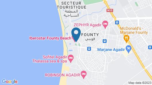 Iberostar Founty Beach Map