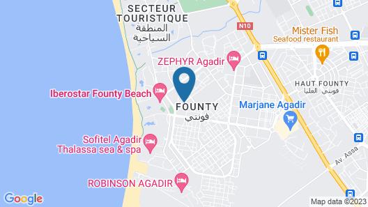 Timoulay Hotel & Spa Agadir Map