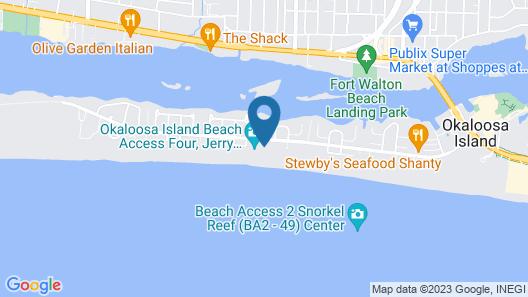 Waters Edge Condominiums Map