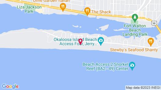 Mermaid Beach House 3 Bedroom Townhouse Map