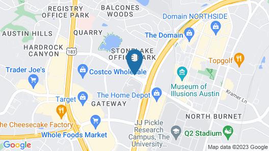 Hampton Inn by Hilton Austin NW near The Domain Map
