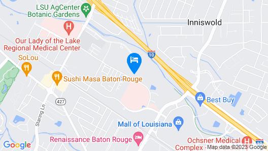 Element Baton Rouge South Map