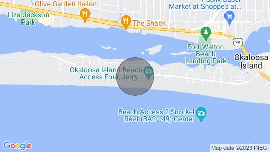 New Listing! Coastal Dream w/ Bright Interior, Beach Access & Shared Pool! Map