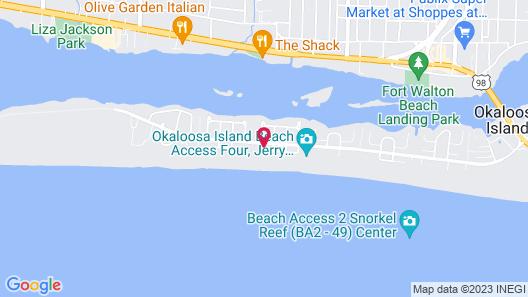 Island Echos Condominiums Map