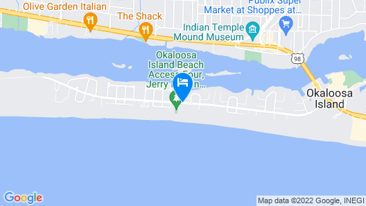 Fairfield Inn & Suites Fort Walton Beach-West Destin Map