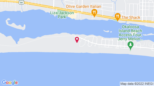 El Matador -resort View Map