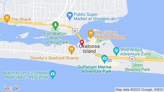Island Houseboat Map