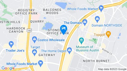 SpringHill Suites Austin Northwest/The Domain Area Map