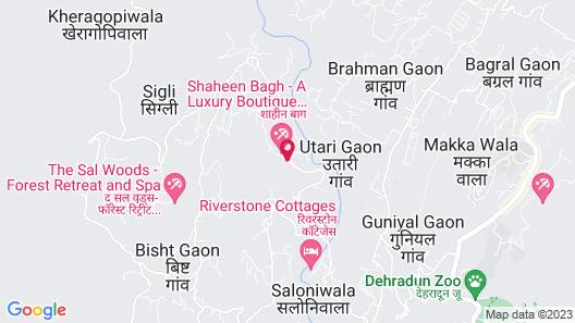 Shaheen Bagh, Dehradun - A Luxury Boutique Resort & Spa Map