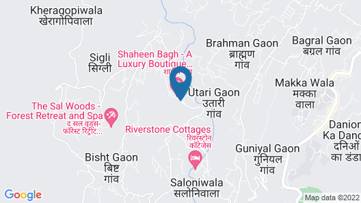 Shaheen Bagh - A Luxury Resort & Spa Map