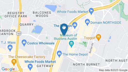 Fairfield Inn and Suites by Marriott Austin Northwest/Domain Map