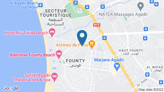 Residence Rofaida Map